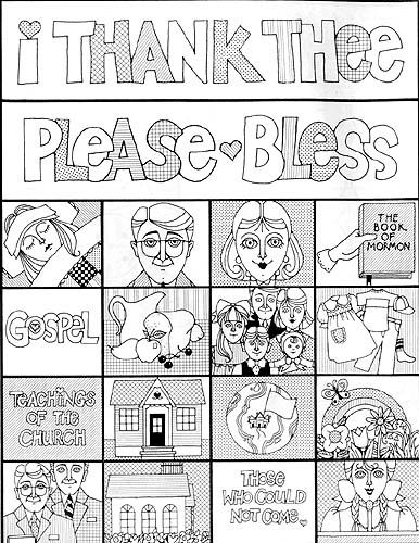 22 best Primary Coloring Pages images on Pinterest Lds primary