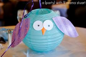 diy owl party decorations - Google Search
