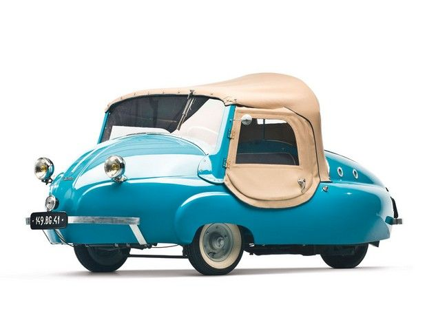 1956 Paul Vallée 125cc Microcar