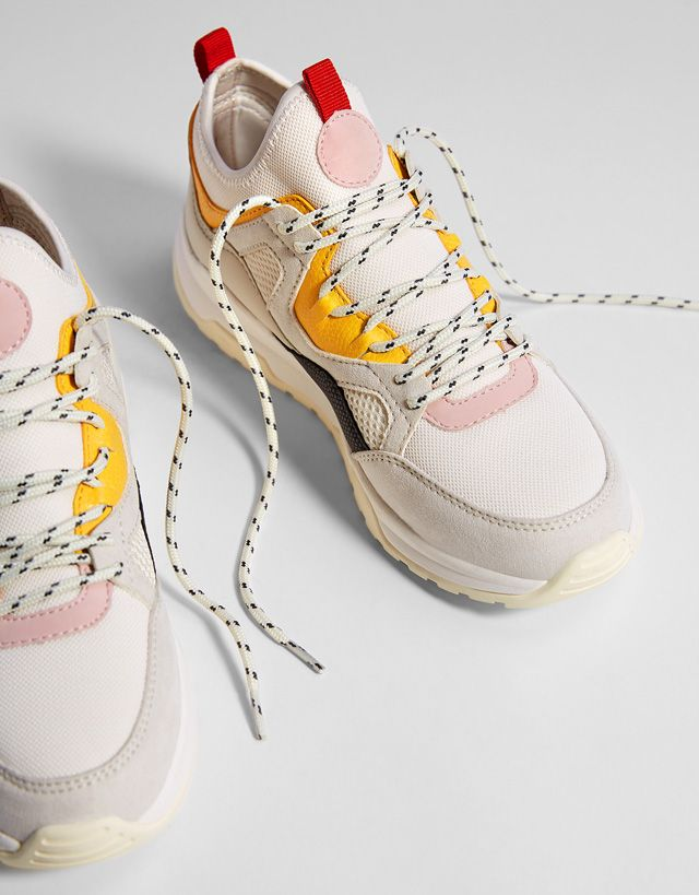 2885a74c7332 Sneakers with multicolored pieces in 2019 | kix!! | Footwear ...