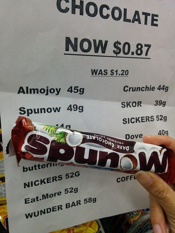 The person who priced this delicious bar of spunow.   26 People Who Failed Harder Than You Ever Thought Possible