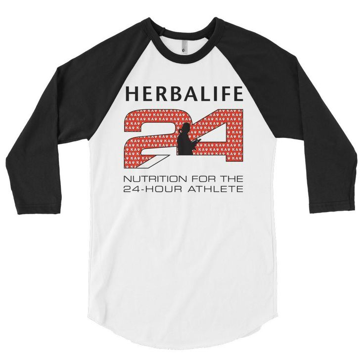 Herbalife Kappa Alpha Psi 3/4 sleeve raglan shirt