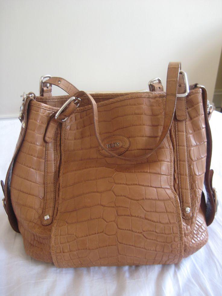 £14,000 TOD's Handbag / 100% crocodile skin - First-hand http://www.justgiving.com/Safe-Haven-Appeal