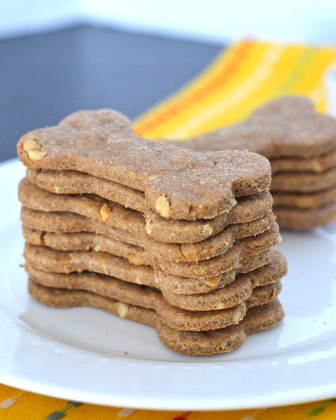 how to make peanut butter dog treats at home