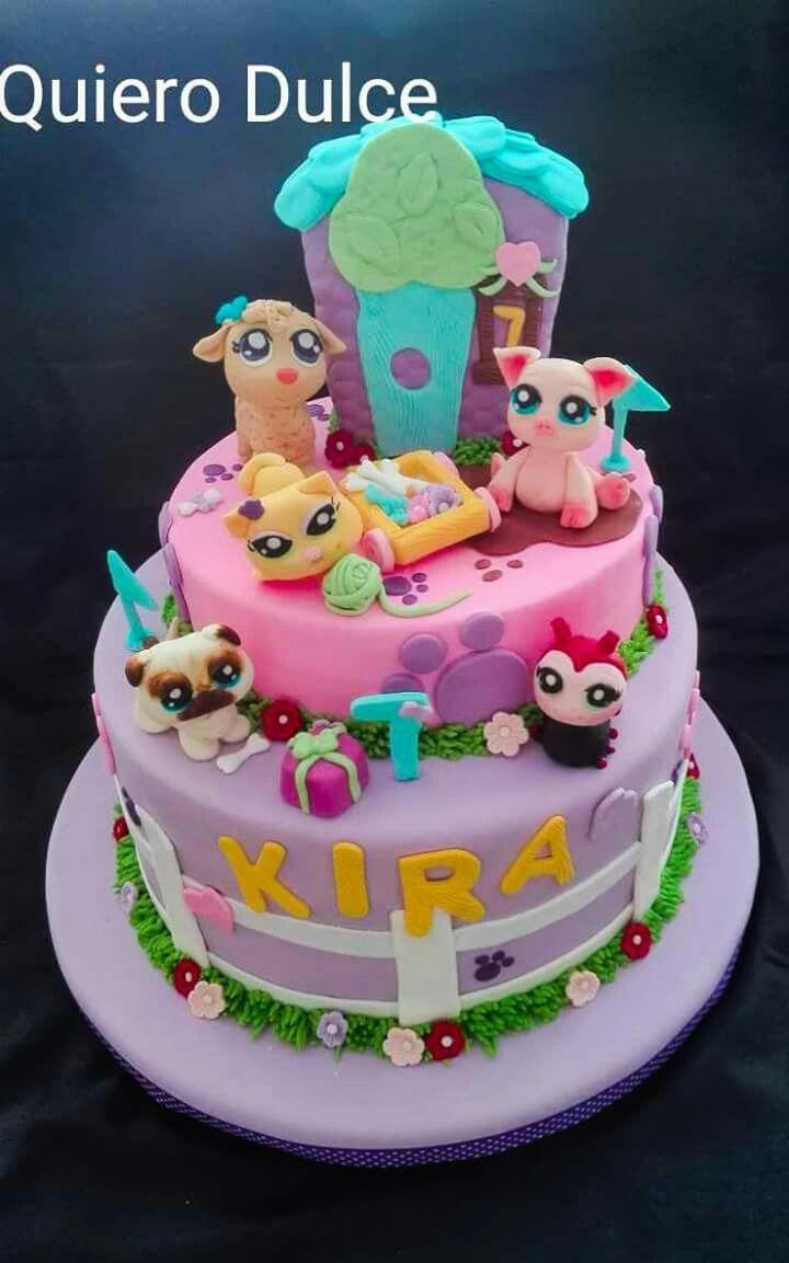 Torta de Littlest pet shop www.facebook.com/quierodulce1