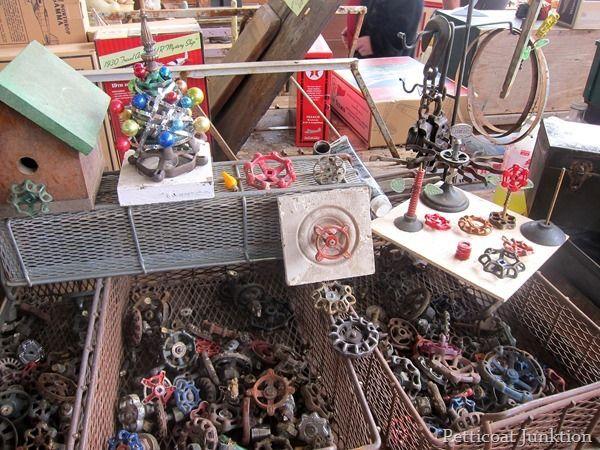 crafts from hardware Nashville Flea Market