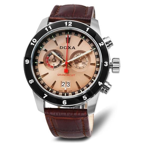 Zegarek DOXA, 2050 PLN  www.YES.pl/53904-zegarek-doxa-TC33861-S0000-SAB000-000 #watches #BizuteriaYES #menswatches #buyonline #shop #Poland #freedelivery