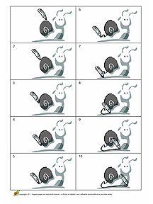 Favori 23 best * HERFST: slakken kleurplaten! images on Pinterest  HC04