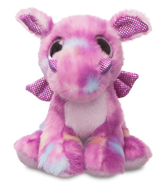 Amethi Purple Dragon Soft Toy