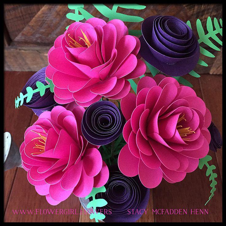 Paper Flower Arrangement Ideas: Best 25+ Paper Flower Arrangements Ideas Only On Pinterest