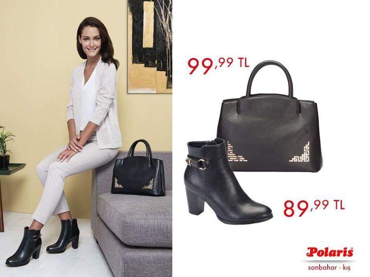 Beyaz kombinleri tamamlayan siyah Polaris kısa bot ve birkin çanta ikilisi ile yağmurlu havalara meydan okuyoruz!  AW1617 #newseason #autumn #winter #sonbahar #kış #yenisezon #fashion #fashionable #style #stylish #polaris #polarisayakkabi #shoe #ayakkabı #shop #shopping #men #womenfashion #trend #moda #ayakkabıaşkı #shoeoftheday