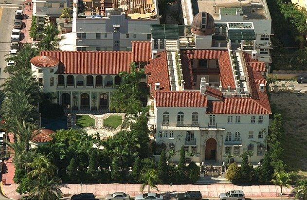 Gianni Versace's House from Above