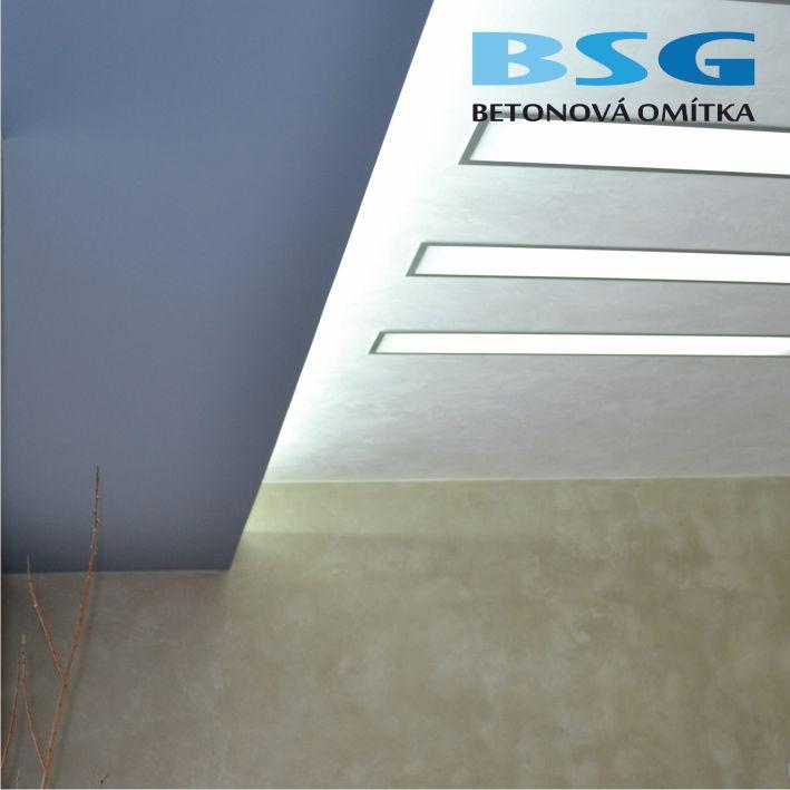 imitace pohledového betonu