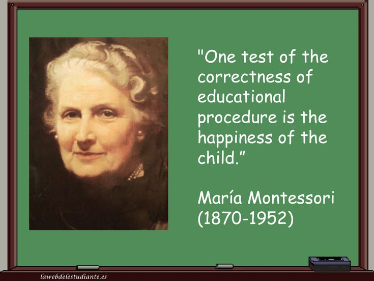 Montessori quotes... Common Core....you're not going to cut it.