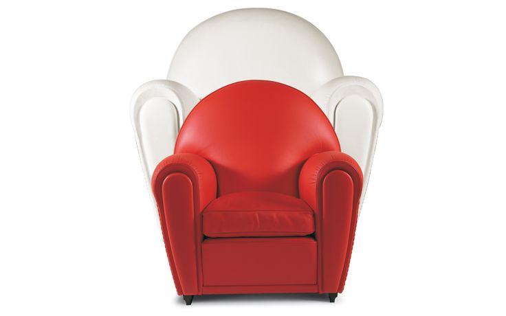 Poltrona Frau Baby Vanity Poltrona Frau Baby Vanity, een fauteuil van PLAN@OFFICE ontworpen door Poltrona Frau.