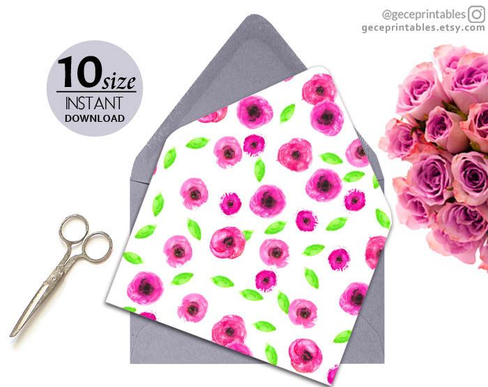 best 25  envelope template printable ideas on pinterest