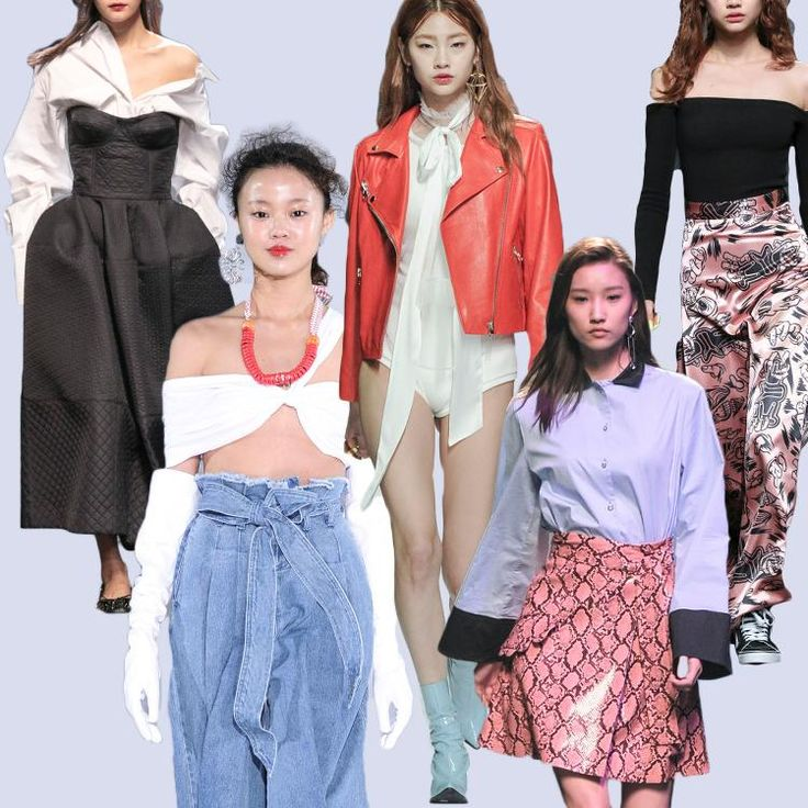 Seoul fashion week 2016 best Runway looks by AMAZE