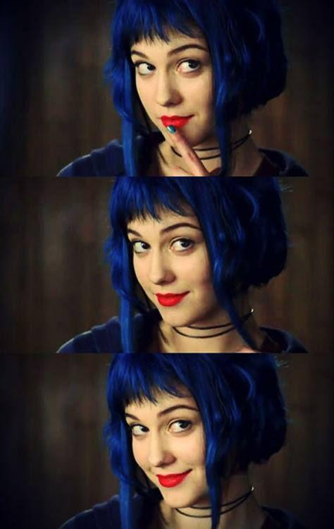 Ramona Flowers | Scott Pilgrim vs The World | Blue Hair | Mary Elizabeth Winstead