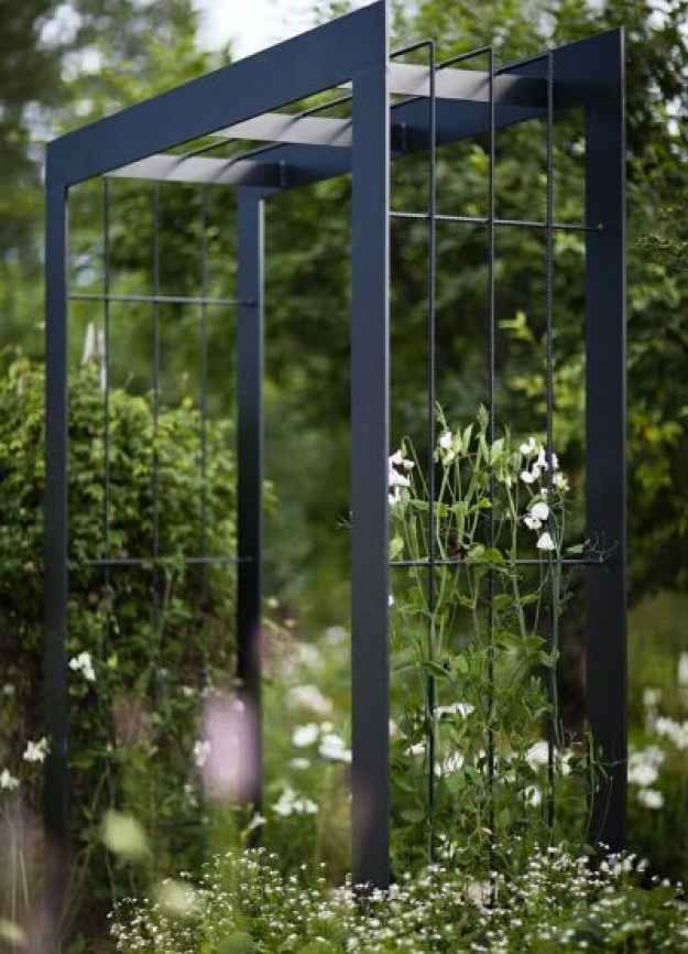 17 best ideas about metal arbor on pinterest metal for Metal garden trellis designs