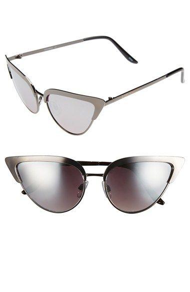 Steve Madden 53mm Vintage Metal Cat Eye Sunglasses | Nordstrom