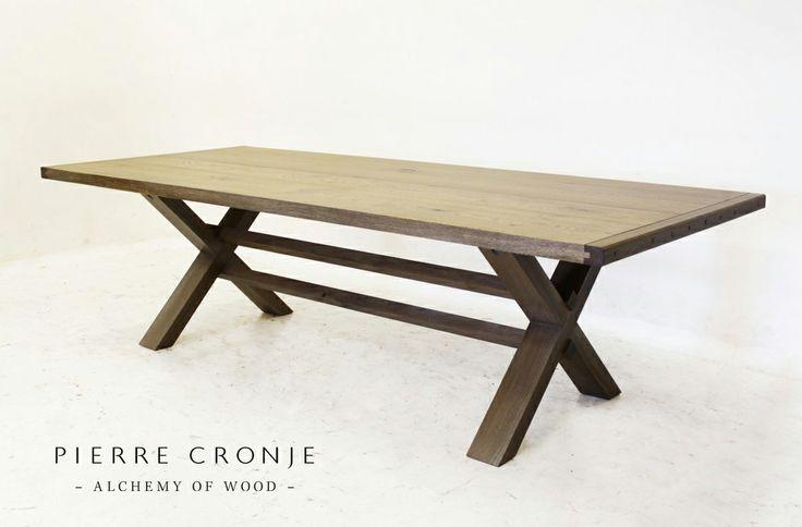 A Pierre Cronje Veldrift Table in French Oak