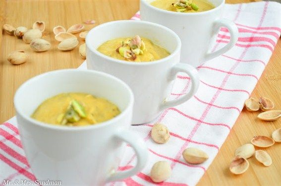 #Pumpkin and Baby Carrots Cream #Soup