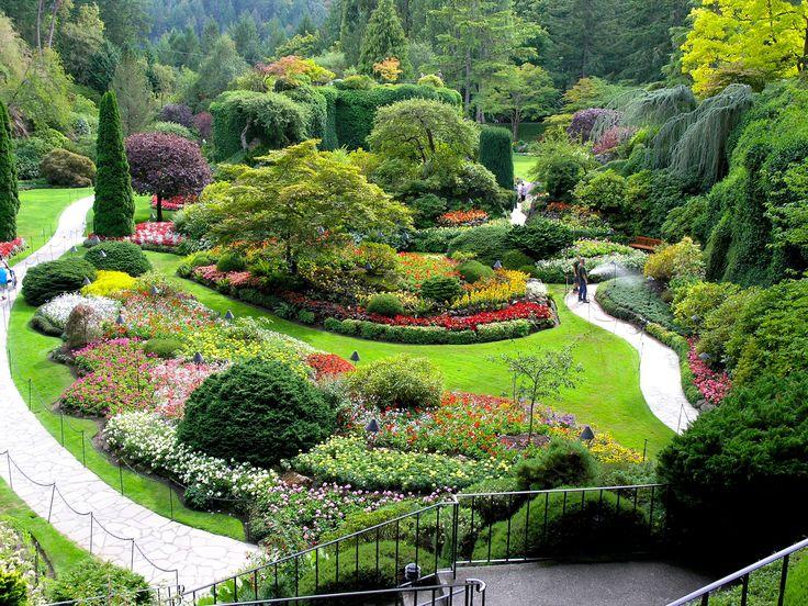 Butchart Gardens, Vancouver island Jardines