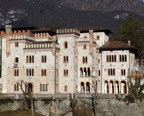 Ponte delle Alpi (Belluno) - Castello Bortoluzzi  #TuscanyAgriturismoGiratola