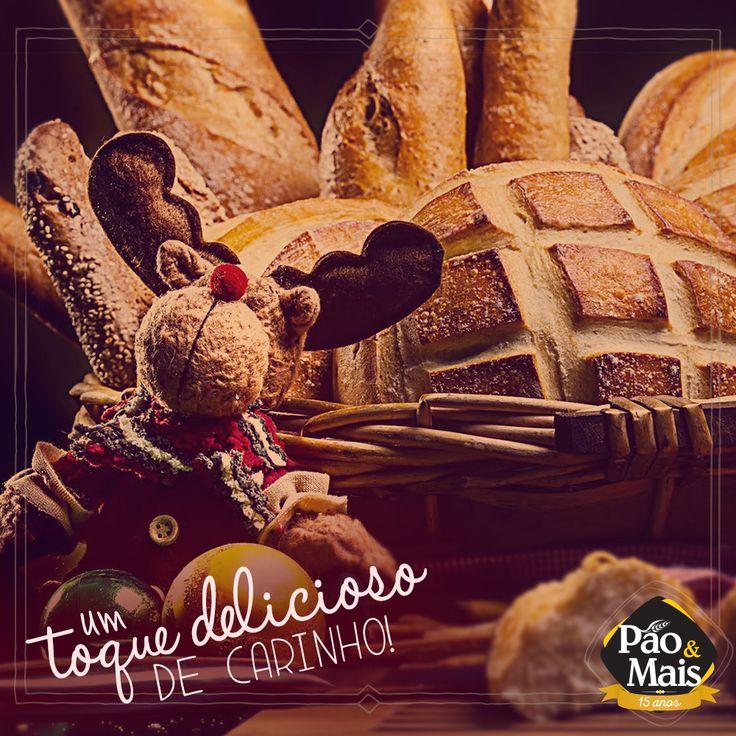 A ceia de #Natal é um momento de fraternidade. Compartilhamos a mesa com pessoas especiais. É época de comemoração! #MaisNatal #PãoeMais
