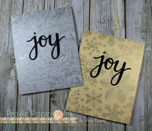 Hero Arts Joy Cards | AmyR Christmas Card Series #18