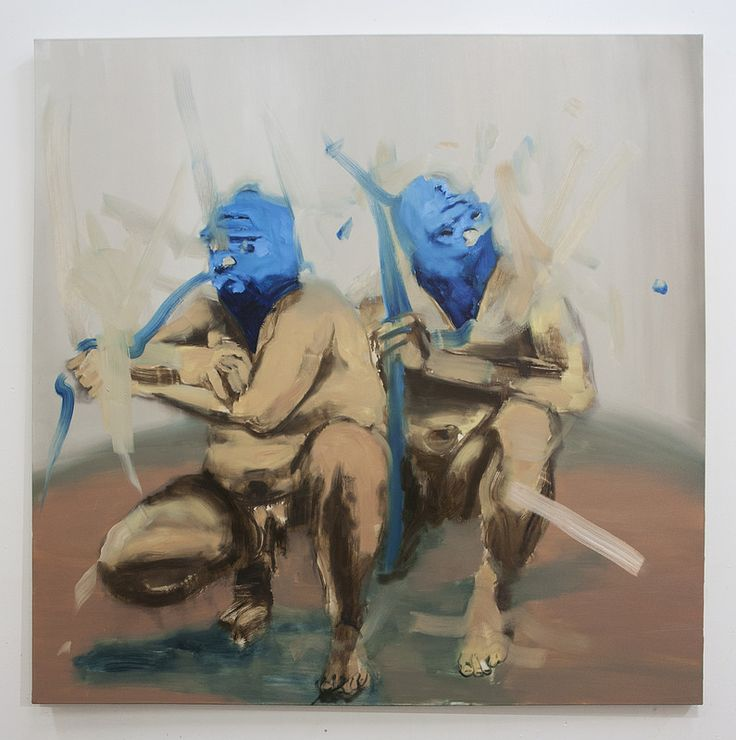 Othello II  Artista: Bartosz Beda, óleo sobre lienzo, 153x153cm, 2014  Artist: Bartosz Beda, oil on canvas, 153x153cm, 2014 (300dpi)  #art #arte #contemporaryartwork #pintura #paint #bac #dibujo #drawing