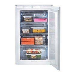 IKEA - DJUPFRYSA, Integrert fryser A+, 5 års garanti. Les om vilkårene i garantiheftet.Med hurtigfrys kan du fryse fersk mat raskt ned og bevare den gode kvaliteten.Glatte innervegger og 4 uttakbare skuffer for enkel rengjøring.Den uttrekkbare dreneringsslangen gjør avriming enkelt.Utstyrt med døralarm som ringer dersom døren ikke lukkes ordentlig.Temperaturalarmen advarer deg dersom noe går galt med fryseren, eller temperaturen plutselig øker.Døren er tilpasset både for høyre- og…