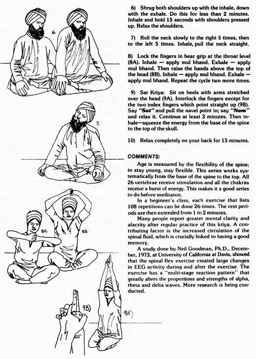 -kundalini yoga  ~sadhana
