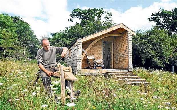 Kevin McCloud's modest design: an eco-cabin in the woods  Grand Designs presenter Kevin McCloud tells Christopher Middleton why building a cabin in the woods for his new series was the fulfillment of a lifelong dream.