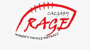 Calgary Rage (Calgary, Alberta) Western Women's Canadian Football League #CalgaryRage #WWCFL #CalgaryAlberta (L17868)