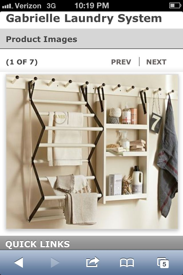 DIY: Laundry Room on Pinterest