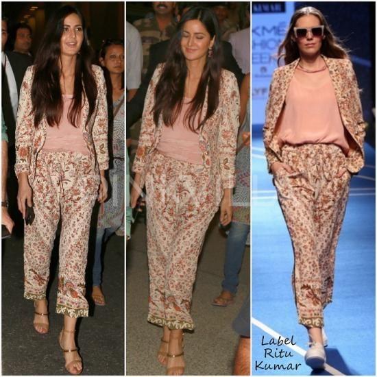 Celebrity Style,katrina kaif,tanya ghavri,Label Ritu Kumar,Baar Baar Dekho