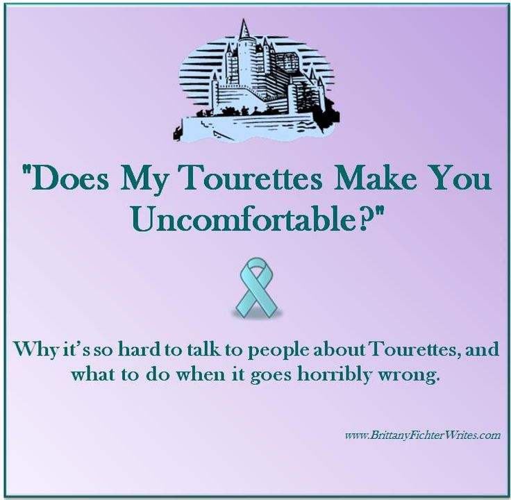 dating someone with mild tourettes Are you searching for someone who feels your pain do you want to meet someone who understands well you found the right website to meet your perfect match, tourette's dating.