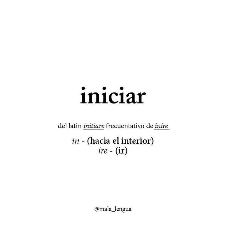 Ir hacia el interior #palabra#iniciar#inicio#word#malalengua#lenguaje#sehablaespañol#etimologico#raiz#experimento#