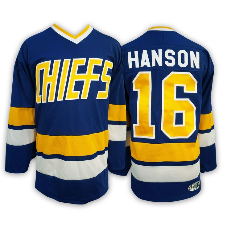 #16 Jack HANSON - Hanson brothers Charlestown CHIEFS jersey - (away)