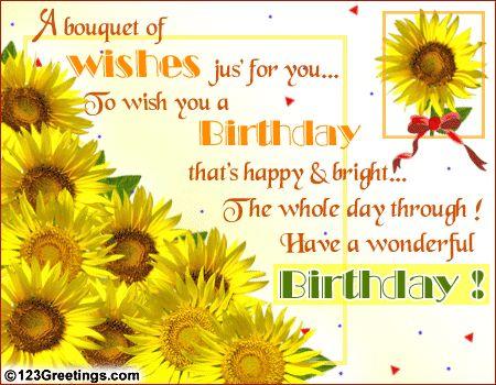 sunflowers cards | ... :: Happy Birthday sunflowers ...