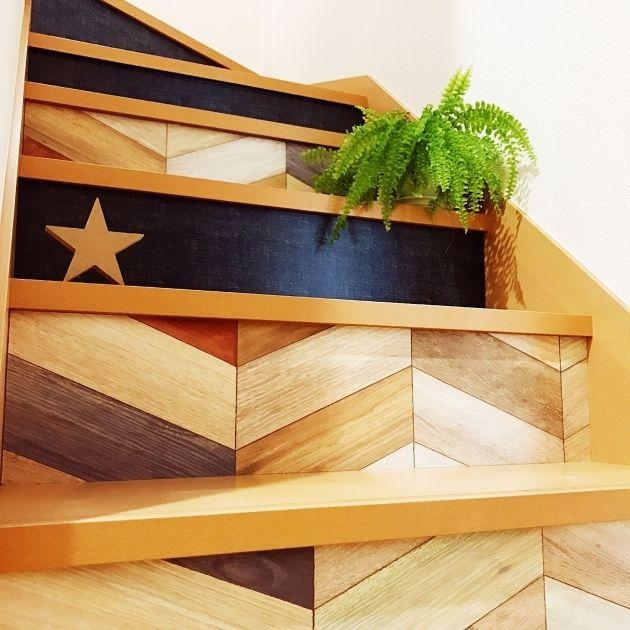 意外なリメイクスペース☆おしゃれな階段リメイクのアイデア実例12選 - Yahoo! BEAUTY