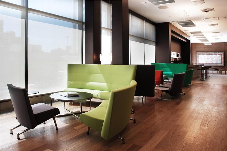 Point Hotel Barbaros, London. Prodcuts: Club Easy chair, Spira, Quickly, Cortina, Area