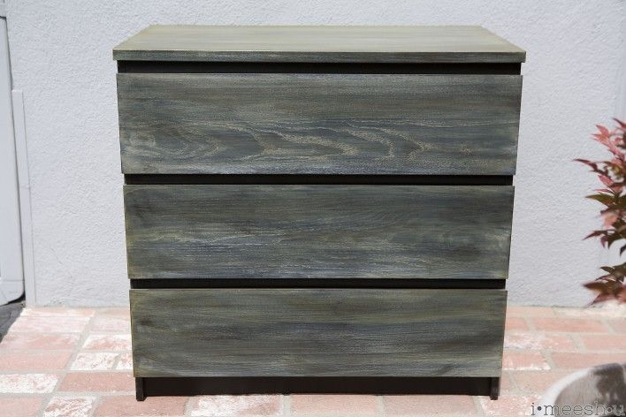 painting an Ikea Malm dresser w/ASCP to get a Restoration Hardware finish