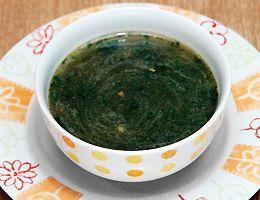 クレオパトラが好んだモロヘイヤのスープ、かなりおいしい♪