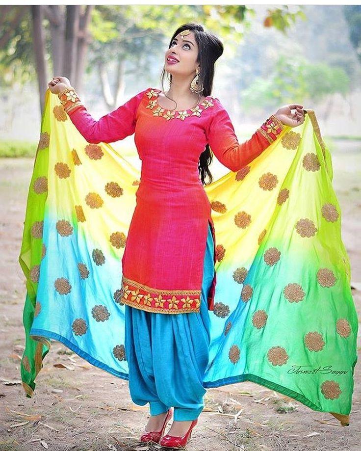 """3,132 Likes, 23 Comments - Kudiyan Punjab Diyan (@kudiyan.punjab.diyan) on Instagram: """"In pic @official.chirag  Outfit designed by @kirensandhu_designer #kudiyan #punjab #diyan #tohari…"""""""