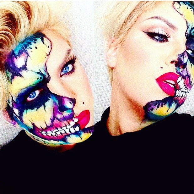 POP ART MARILYN ZOMBIE by yvonnetheartist. Tag your pics with #Halloween and #SephoraSelfie on Sephora's Beauty Board for a chance to be featured!