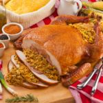 Do you know that making a Turducken can take about five hours to prepare and that it requires some specialty equipment? Ours, are pre-seasoned and stuffed with Authentic Louisiana recipes. Order yours today! 15lb Turduckens are on sale for $69.00 plus shipping #dinner #food #recipes  http://qoo.ly/j5nnr