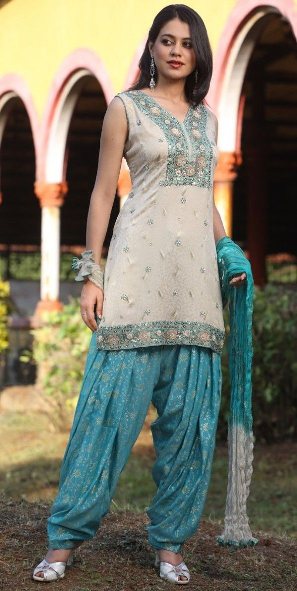 Cotton Salwar Neck Designs 2014