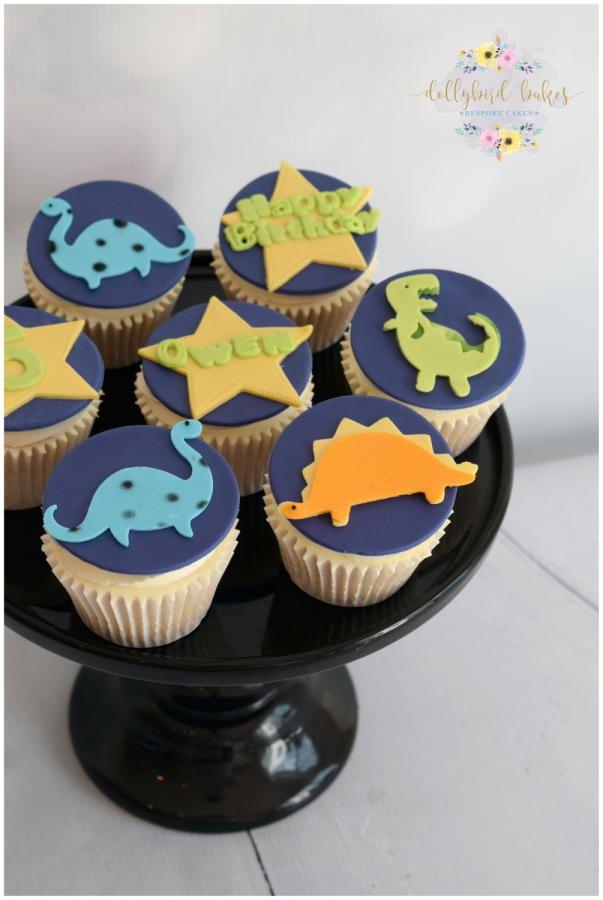 how to make a dinosaur cupcake cake